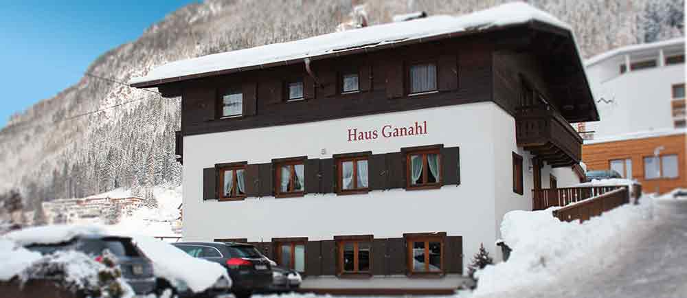 Bed and Breakfast accommodation Haus Ganahl Ischgl