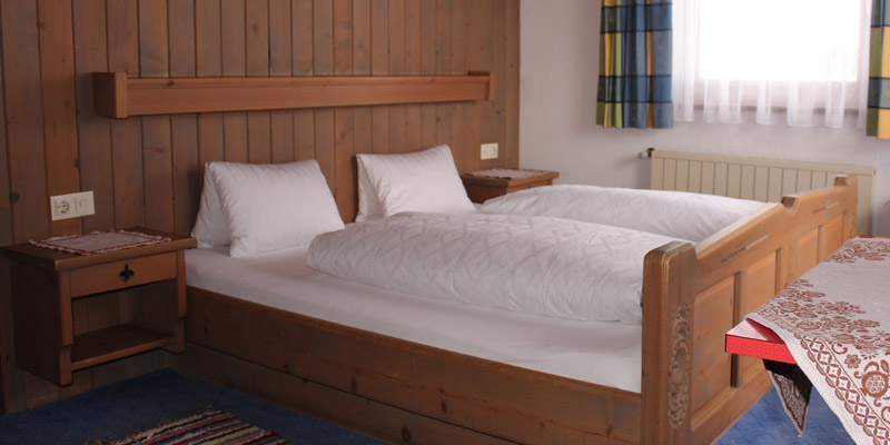 Bed and Breakfast accommodation Haus Ganahl Ischgl room