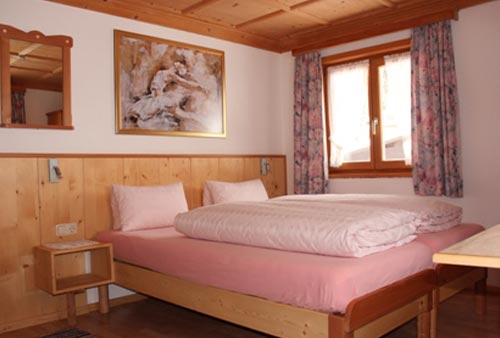 Bed and Breakfast accommodation Haus Ganahl Ischgl rooms